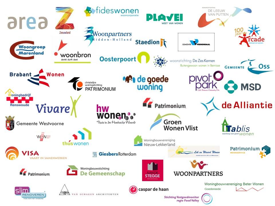Logo's van onze klanten