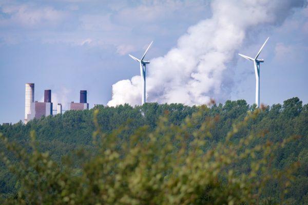 Duurzame windenergiecentrale